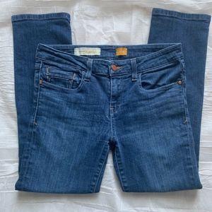 Pilcro & Letterpress Anthropologie 28 Ankle Jeans